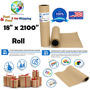 Kraft Paper Roll Sheet Packaging Wrap Packing Shipping Mailing Supplies 1800x30
