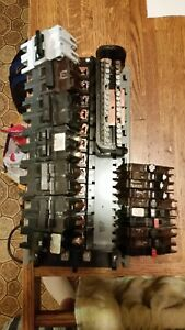 Federal Pacific Electric Pioneer Breakers Distribution Panel And Bus Bar Lot