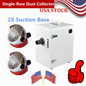 Dental Lab Digital Single row Dust Collector Collecting Vacuum Air Cleaner 110v