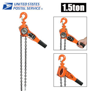 1 1 2 Ton Lever Block Hoist Chain Ratchet Come Along Chain Hoist