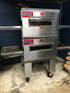 Edge 30 Double Stack Gas Conveyor Pizza Oven