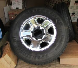 Four Dodge Ram 2500 3500 18 Inch Wheels And Tires In Good Condition