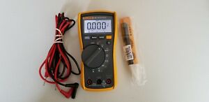 Used Fluke 115 Trms Multi Meter With Accessories Tp 224189