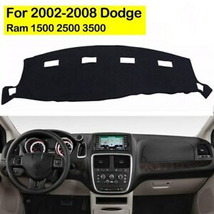 For 2002 2008 Dodge Ram 1500 2500 3500 Dashmat Dashboard Dash Cover Mat Carpet