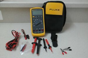 Fluke 87v e2 Industrial Electrician Combo Kit Digital Multimeter