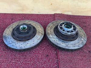 106 Mercedes W219 W211 Cls63 E63 Front Brembo Brake Rotors Rotor Disc Set Oem