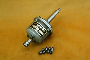 Procunier Model E Size 1 Tapping Head 2mt Morse Tapper Four 4 Collets