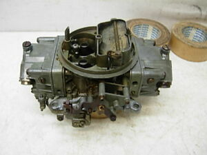 4777 2 Holley Carburetor 650 Cfm Double Pumper Race Carb Amc Chevy Ford Mopar