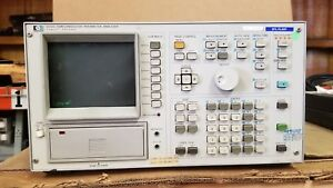 Hp 4145a Semiconductor Parameter Analyzer Powers Up Dead Display