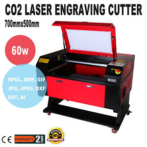 60w 500x700mm Co2 Usb Port Laser Engraving Cutter Cutting Machine Up Down Table