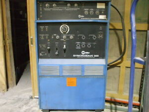 Miller Syncrowave 300 Welder With Ps 1 Programmer