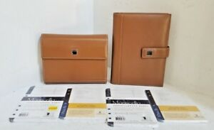 Vtg Dooney Bourke Address Phone Directory Notepad Leather Padfolios