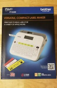 Brother Pt d400 Label Maker New In Box