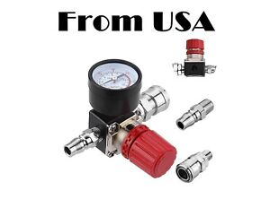 Air Compressor Pressure Regulator Gauge Water Trap Air Tools