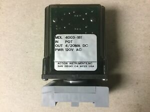 Action Instruments 4003 181 Relay Module With Base