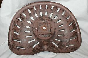 Vintage Metal Tractor Seat Wall Art Deco Man Cave Steampunk
