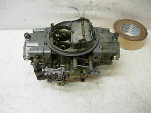 4781 2 Holley Carburetor 850 Cfm Double Pumper Race Carb Amc Chevy Ford Mopar