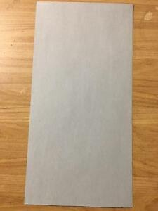 Fish Paper Electrical Insulation 7 Mil 5 Piece Lot over 100 Sheets