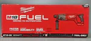 New Milwaukee 2713 20 M18 Fuel 1 Sds Plus D handle Rotary Hammer Drill