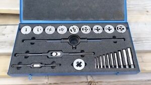 Euc Greenfield Little Giant 00047 Tap And Die Set