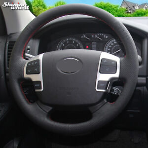 Steering Wheel Cover For Toyota Land Cruiser 2008 2015 Tundra Sequoia 2008 2011