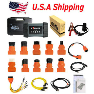 Usa Ship Xtuner T1 Heavy Duty Truck Auto Intelligent Diagnostic Diesel Scan Tool