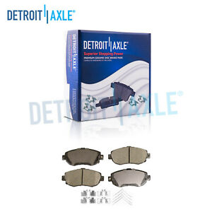 Front Ceramic Brake Pads For Lexus Gs300 Gs400 Gs430 Is300 Sc430 Toyota Supra