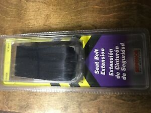 One New Seat Belt Extender 12 Inch Superior
