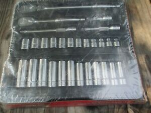 Brand New In Plastic Snap On Tools 3 8 Drive 29pc Metric Set