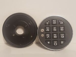 Brand New Lagard Low Profile Digital Keypad For 33e Lock Grey Wire Metal Ring