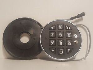 Brand New Lagard Low Profile Digital Keypad For 33e Lock Grey Wire Plastic