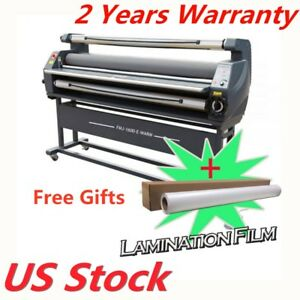 63 Full Auto Wide Format Heat Assisted Cold Laminator Free Gift Us Stock
