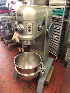 Hobart Mixer H 600 4 Speed 3 Phase 200 Volts 1 5 Hp Used