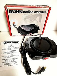 Bunn Coffee Warmer Bcw Electrical Decanter Carafe Hotplate Black Excellent