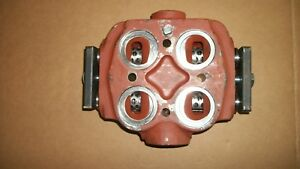 Fmc John Bean Sprayer Pump E04 Valve Chamber Part 1247235 Ne