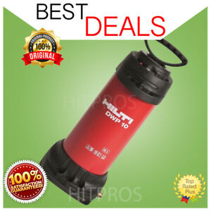 Hilti Dwp 10 Portable Water Supply Brand New Fast Shipping