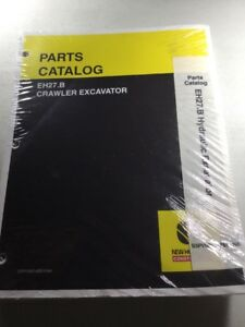 New Holland Eh27 b Excavator Parts Catalog Manual
