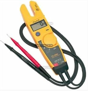 Electrical Tester Clamp Continuity Current Gauge Brand Fluke T5 600 Measur Znew