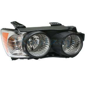 12 16 Chevy Sonic Front Headlight Headlamp Head Light Lamp Black Trim Right Side