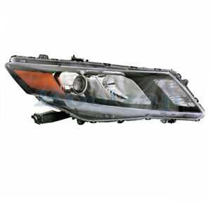 For 10 12 Accord Crosstour Front Headlight Headlamp Head Light Lamp Right Side