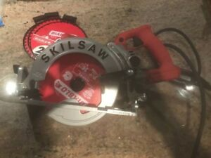 Skilsaw Spt77wm rt 7 1 4 In Magnesium Worm Drive Circular Saw