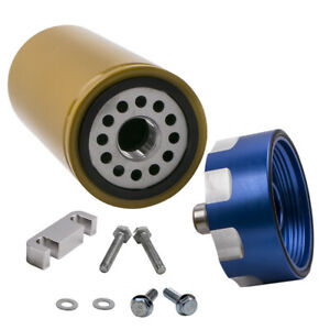 Fuel Filter Kit Adapter For Gm Duramax Chevrolet Gmc 6 6l 2001 2016 Brand New
