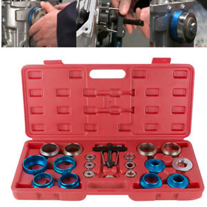 Camshaft Bearing Remover Installer Tool Kit Set Crank Seal Removal Motor Car Use