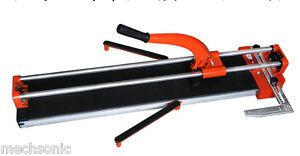Tile Cutter Cutting Machine Table Top 800mm Heavy Duty Slide Cutting Pro Tile Wo