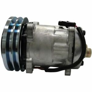 Ac Compressor Case International Tractor 580 Super L Loader Series 2 1706 7001