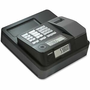 Casio Inc Entry Lvl Thermal Cash Register 12 4 5 x13 1 2 x6 1 2 Bk Pcrt273