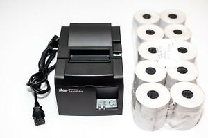 Star Micronics Tsp100 Futureprnt Eco Point Of Sale Thermal Printer W paper Rolls