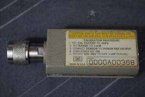 Hp 8481a 10mhz 18 Ghz Rf Power Sensor 30 To 20dbm