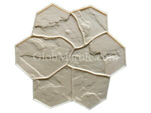 Concrete Stamp Flex Floppy Mat Form Sm 1903 4 Decorative Concrete Random Stone