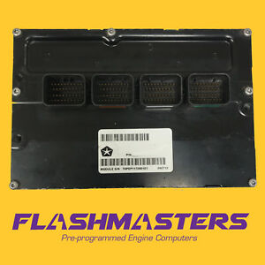 2005 Dodge Caravan 3 3l Computer Ecm 5134857 Programmed To Your Vin